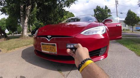 Tesla Model S Garage Door Opener by Tesla Model S Home Link Setup