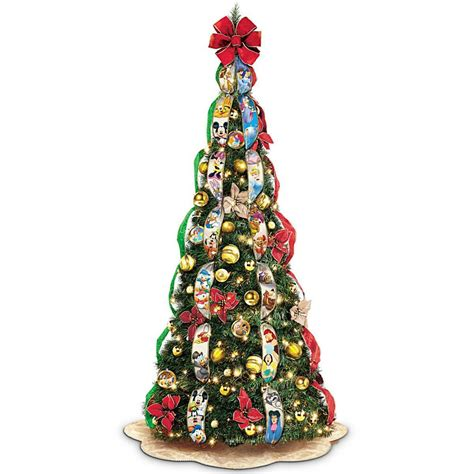 pop up christmas trees with lights disney pop up fully decorated lighted tree decor new ebay