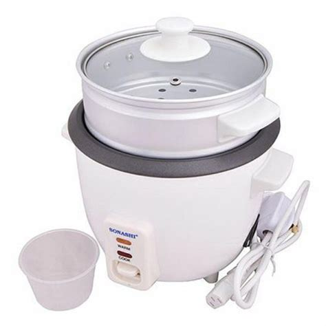 Rice Cooker 2 Liter sonashi 1 liter rice cooker src 310 price review and buy in kuwait alexandria city cairo