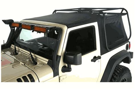 Soft Top Roof Rack by Exo Top Soft Top Roof Rack Jeep Wrangler Jk 2007 17 2