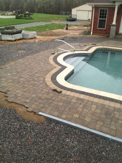 1000 images about french drain around the pool on pinterest french drain system pool houses