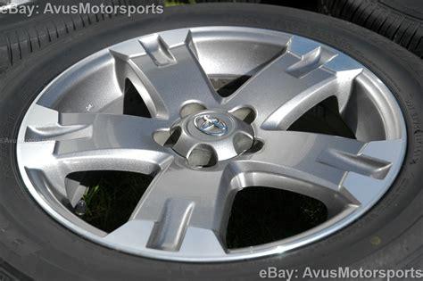 Toyota Rav4 Wheels 2012 Toyota Rav4 Oem 18 Quot Wheels Runflat Tires Tacoma Camry