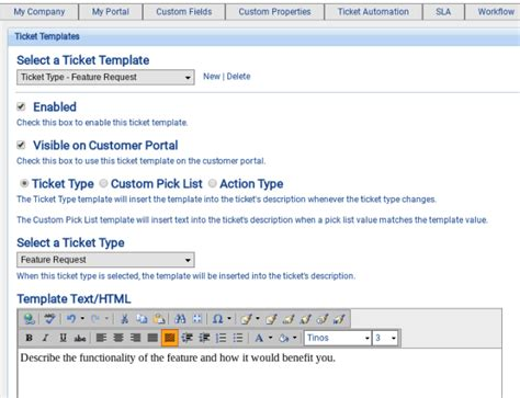 Ticket Templates Customer Support Software Documentation 1 It Support Ticket Template