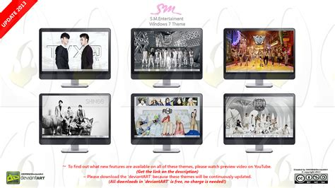 themes in kpop 2013 theme s m entertainment kpop all group by hkk98
