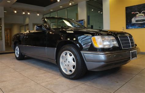 Mercedes E320 Cabriolet For Sale Convertible Week 1995 Mercedes E320 Cabriolet