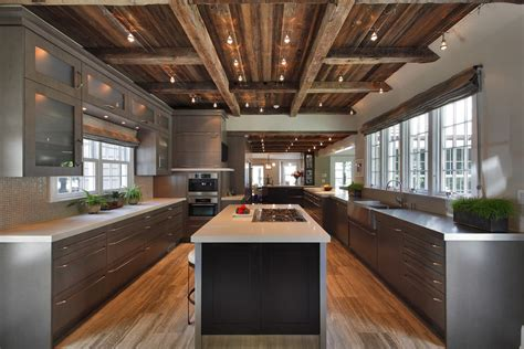 rustic modern kitchen cabinets rustic track lighting kitchen contemporary with cabinet