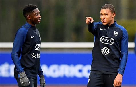 ousmane dembele mbappe paul pogba impressed by mbappe dembele s talent