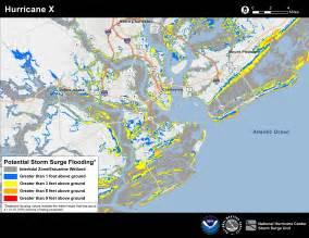 venice florida flood zone map potential surge flooding map