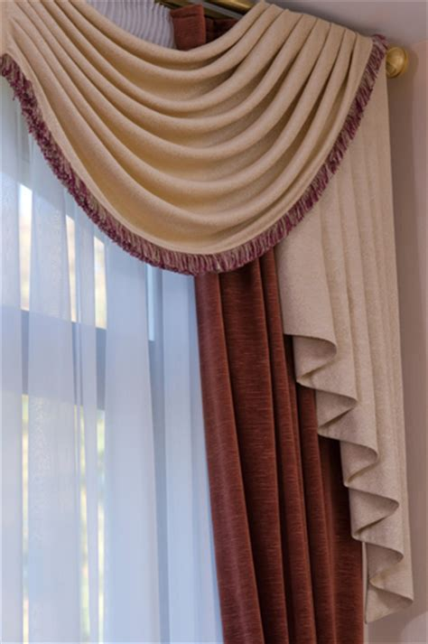 draping curtains over a rod how to choose the right curtain rod for your window