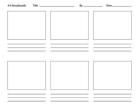 storyboard templates for animators. | teacher. | pinterest