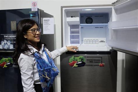 Mesin Cuci Samsung Pintar samsung pamerkan mesin cuci inovatif kulkas pintar di