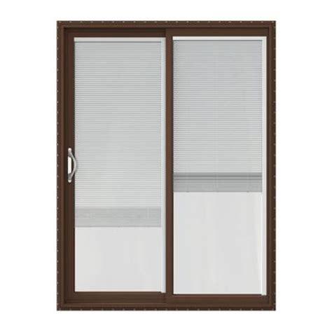 Home Depot Sliding Patio Doors by Jeld Wen 60 In X 80 In V 2500 Series Vinyl Sliding Patio