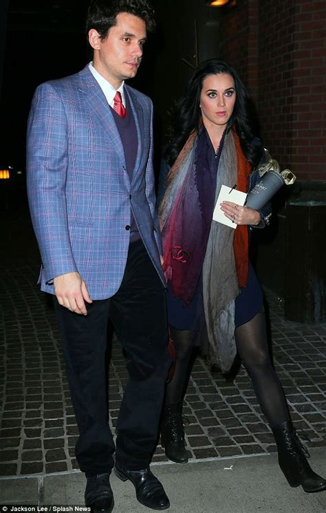 katy perry and john mayer make a great looking couple as