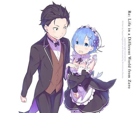 subaru and emilia married natsuki subaru and rem re zero are the otp