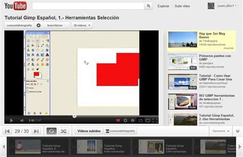 tutorial gimp español dad foto videotutorial de gimp en espa 241 ol