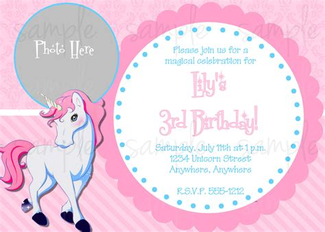 unicorn birthday invitation templates unicorn birthday invitations haskovo me