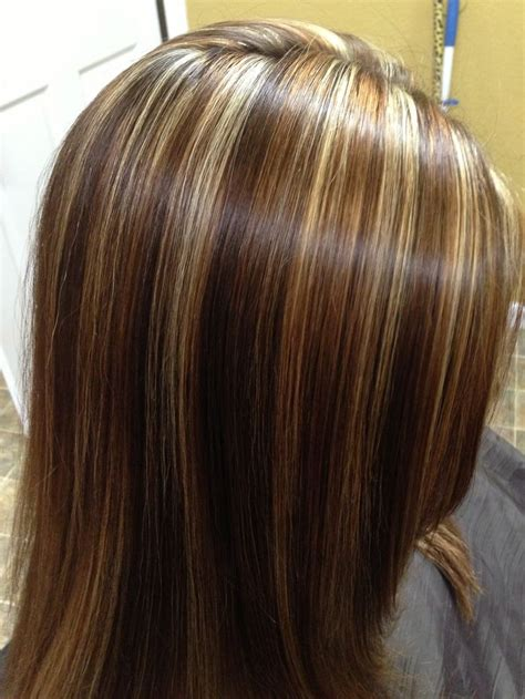 hair foils colour ideas caramel lowlights highlights for brunettes dark brown hairs