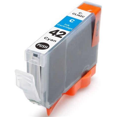 Canon Cyan Ink Cartridge Cli821c canon cli 42 cyan compatible ink cartridge