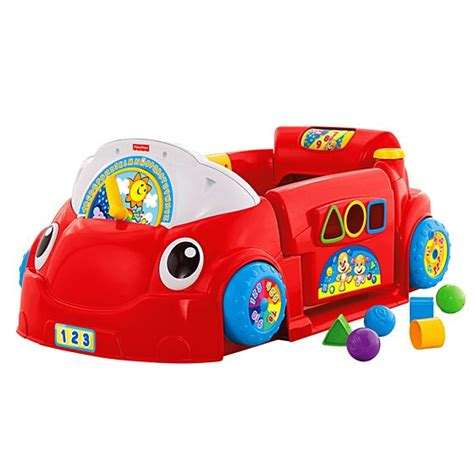 fisher price smart car laugh learn 174 smart stages crawl around car