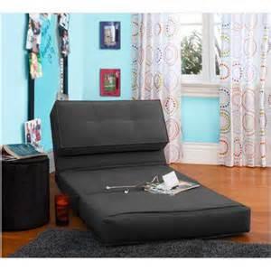Your zone flip chair rich black