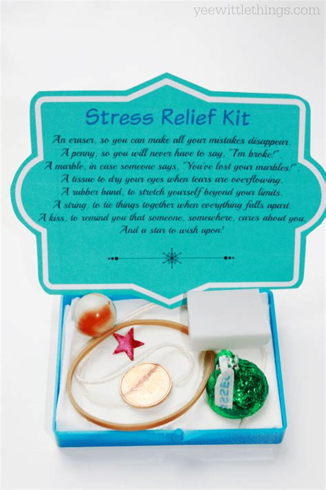 The Top 5 Things For A Stress Free by Diy Stress Relief Kit Yee Wittle Things