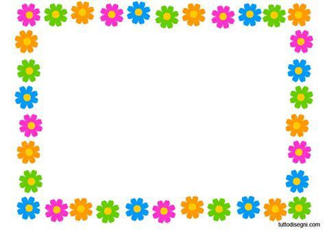 cornice con fiori cornicetta primavera tuttodisegni