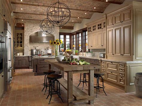 charming rustic kitchen lighting ideas with the sink