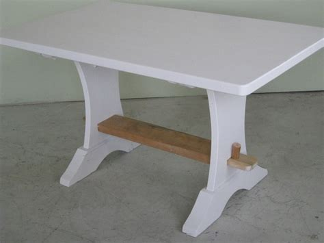 small 5 ft trestle dining table farmhouse dining