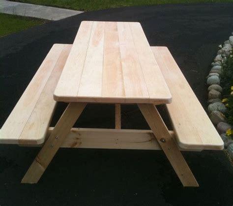 ft picnic table plans  tables   big box