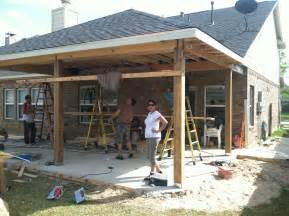 Patio Covers Patio Cover In Houston Tx Hhi Patio Covers