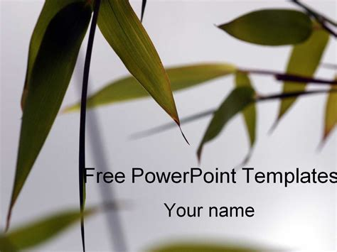 Free Powerpoint Templates Powerpoint Templates Botany Ppt Templates Free