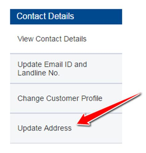 how to change your address in hdfc bank account
