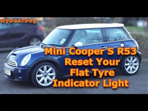 resetting windows mini cooper how to reset your flat tyre light on mini cooper s r53