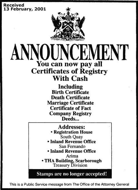 And Tobago Birth Records Caribbean Genealogy Country Resources