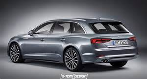 audi s new a5 sportback rendered in avant base form