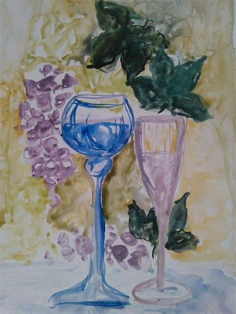 art dinca vine painting by farfallina art gabriela dinca