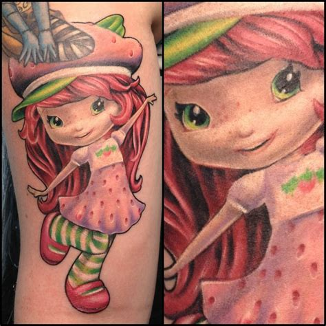 strawberry shortcake tattoo pin by jones on tattoos