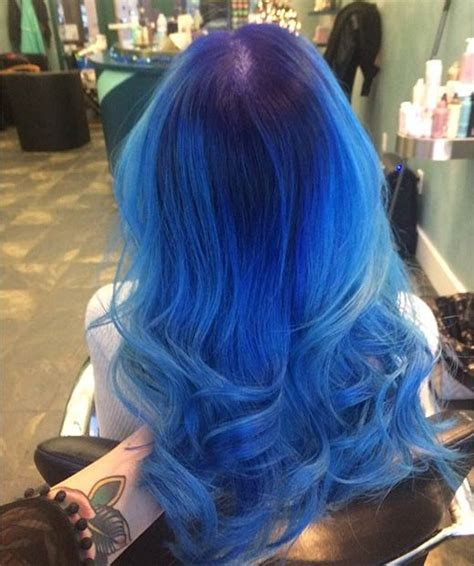 design roots instagram 21 bold and beautiful blue ombre hair color ideas stayglam