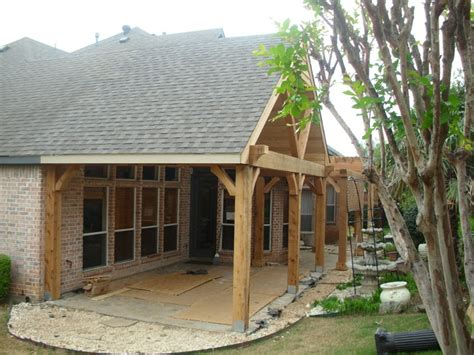 Timber Patio by Timber Framing