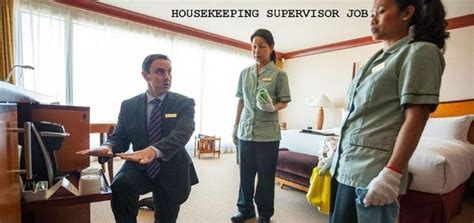 housekeeping supervisors collons international