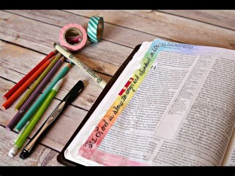 bible journaling ideas and inspiration