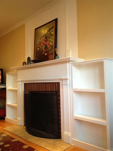 bookcases next to fireplace 10 best fireplace mantel images on pinterest mantles