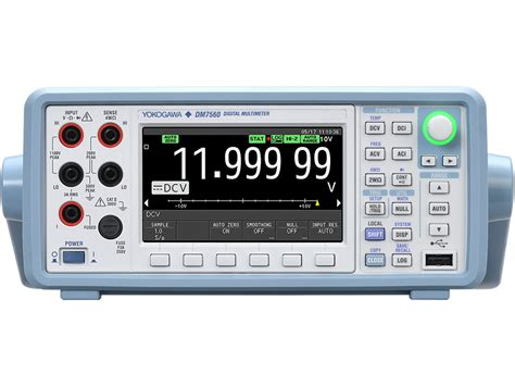 Multimeter Digital Yokogawa dm7560 digital multimeter 6 5 digit yokogawa test