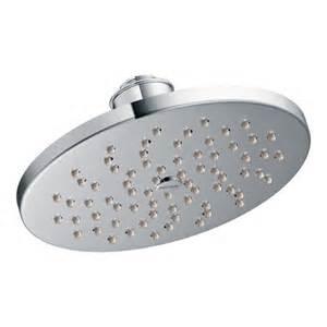Moen Kitchen Faucets Canada moen chrome one function 8 quot diameter spray head rainshower