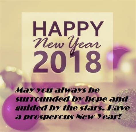 happy new year greeting messages sayings 2018 best wishes