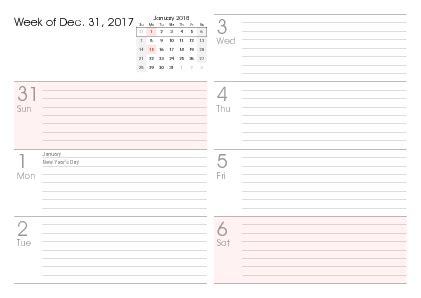2018 daily planner make happen 6x9 12 month planner 2018 daily books printable 2018 calendars pdf calendar 12