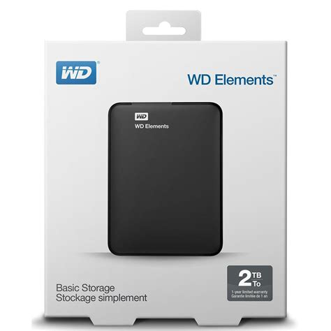 Wd Elements Portable 2 Tb Usb 3 0 wd elements portable drive usb 3 0 2tb black