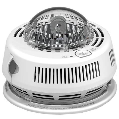 alert smoke alarm light alert brk photo electric hardwired smoke detector