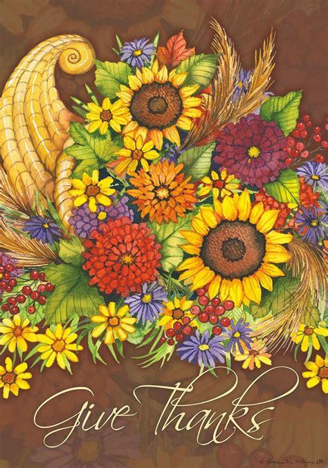 thanksgiving cornucopia garden flags thanksgiving wikii
