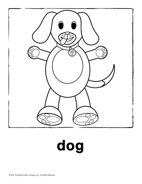 baby einstein world animals book coloring pages